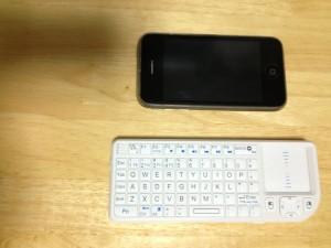 Aigo ワイヤレスキーボード WKB001