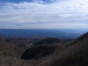 赤城山山頂からの景色