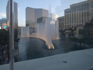 噴水のショー